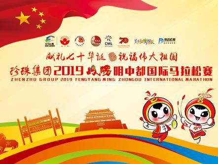 珍珠集团2019凤阳明中都国际马拉松赛